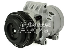 AC Compressor With Clutch Fits: 2007 - 2012 Ford Fusion 4 cyl & V6 Automatic