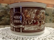 WATKINS ALMANAC *AUGUST*1906* HANDLED SOUP BOWL