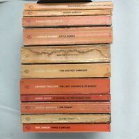 Lot of 11 Penguin English Library 1st editions 1960s Dickens Trollope Defoe PB