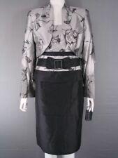 Silk Floral Knee Length Suits & Suit Separates for Women