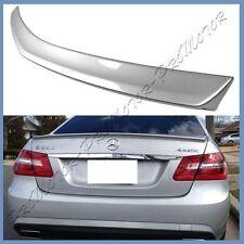 #775 Iridium Silver BENZ W212 A Type Trunk Lip Spoiler 10-16 E250 E350 E400 E550