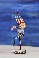 Lori Mitchell Figurine Patriotic Bandstand Sam ESC & Company 4th of July 2010