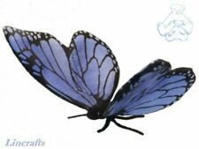 Hansa Blue Butterfly 6552 Soft Toy Insect Sold by Lincrafts Established 1993