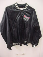 SUMMIT RACING EQUIPMENT*SILVER ANNIVERSARY 68-93*BLACK*SATIN*JACKET*LARGE*NEW