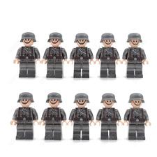 Deutsche Soldaten Mannschaft 10 Stück Minifiguren Sammeln Cobi / Lego kompatibel