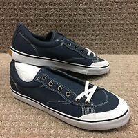 "Emerica Men's Shoes ""INDICATOR LOW "" -- Navy/White"