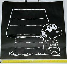 "KAWS SNOOPY UNIQLO 16"" BAG JOE URBAN STREET ART PRINT DESIGN FINE ART Hypebeast"