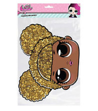 Queen Bee LOL Surprise Single 2D Card Party Face Mask - Great Party fun