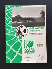 Football Non-League Fixture Programmes (1990s)