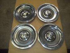 """1970 70 Buick Electra 225 Hubcap Rim Wheel Cover Hub Cap 15"""" OEM USED 1031 SET 4"""