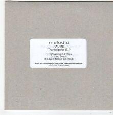(FG76) Paume, Transalpine EP - DJ CD
