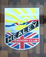 Vintage INSIDE Sticker - Healey Driver's Club - Austin Healey 100, 3000 Bugeye