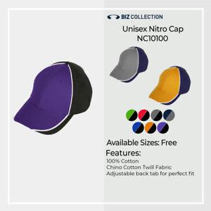 Mens Women Unisex Nitro Cap Sport Snapback Cap Cotton Adjustable Racing Mechanic