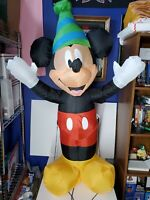 Disney Mickey Mouse Inflatable Mickey 4ft Tall Airblown Led Light Mickey Mouse