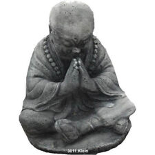 STATUA ORNAMENTO PER GIARDINO GIAPPONESE LAGHETTO KOI BUDDHA IN PREGHIERA 19 CM