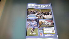 stockport county v darlington 1883 16/17 national league north programme