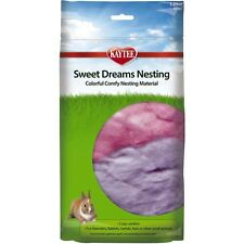 SUPERPET SWEET DREAMS COTTON NESTING BEDDING KAYTEE SMALL ANIMAL. FREE SHIP USA