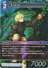 FINAL FANTASY TCG Ramza 3-119L - Opus 3 - Legend Holo Foil MINT/NM