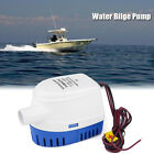 12V Boat Automatic Submersible Bilge Water Pump Auto With Float Switch 1100GPH photo