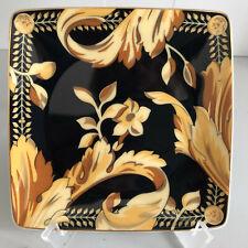 "VERSACE Vanity SQUARE DISH 4.75"" Rosenthal Tray Bowl Schälchen  12 cm"