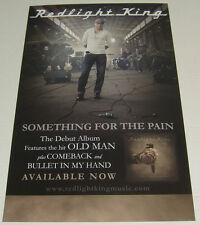 """Redlight King - Something For The Pain * Promo Poster 11"""" x 17"""" rare limited"""