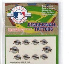 MLB Fingernail Tattoos San Diego Padres