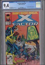 X-Factor Annual #2  CGC 9.4 1987 Marvel Comic: NEW CGC FRAME