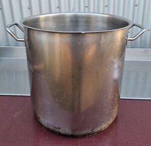 50 ltr. Edelstahlstopf Kochtopf Suppentopf Gastrotopf Topf ohne Deckel Küche