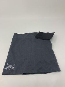 Arc'teryx Unisex LTW RHO Lightweight Wool Neck Gaiter Light Gray One Size NWT!