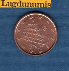 Italie 2006 - 5 centimes d'Euro - Pièce neuve de rouleau - Italia