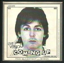"Paul McCartney : Coming Up - vinile 45 giri / 7"" - 1980"