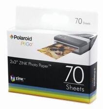 Polaroid Zink 70 Sheets Pogo Photo Paper 2 x 3 Fit Z2300 Zip Snap Mobile Printer
