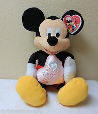 """Disney 16"""" Valentine's Plush Minnie """"BE MY VALENTINE"""" by Just Play L.L.C. #16321"""