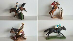 Schleich Reiter Set Sprung Rodeo Western Dressur Pferd verschiedene Raritäten