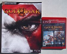 PS3 GOD OF WAR COLLECTION. GAME & STRATEGY GUIDE. LIGHTLY USED.