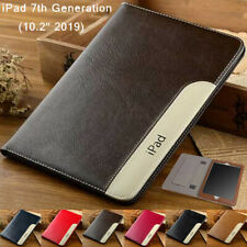"For iPad 10.2"" 8th Gen 2020/ 7th 2019 Smart Leather Flip Wallet Stand Case Cover"