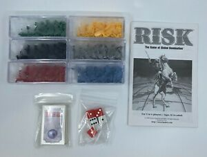 1998 Hasbro Risk Global Domination Replacement Pieces 00044