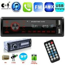 Bluetooth Car Stereo Audio In-Dash FM Aux Input Receiver TF USB MP3 Radio Player
