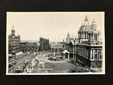 Valentines Silveresque Postcard, Belfast City Hall Donegal Square R1636 - PCBOX1