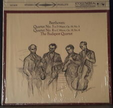 COLUMBIA MS 6075 US PRES BEETHOVEN STRING QUARTET BUDAPEST STRING QUARTET 2-EYE