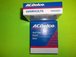 8 Pack Spark Plugs AC Delco MR43LTS 350 305 mercruiser 5.0 5.7 v8 7.4