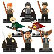 8 PCS Set Harry Potter CUSTOM Mini Figure Hermione Granger RON accoppiamenti LEGO
