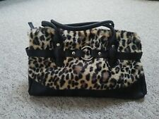 Fur Leopard print Bag