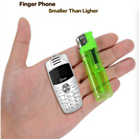 Unlocked Super Mini X6 Car Key Design Mobile Phone Dual Sim Bluetooth SmallPhone
