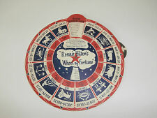 RONNIE HILTON'S WHEEL OF FORTUNE HOROSCOPE DIAL