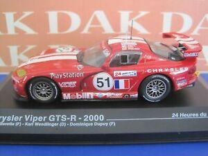 Die cast 1/43 Modellino Auto Chrysler Viper GTS-R 24H Le Mans 2000