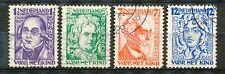 Nederland  220 - 223 gebruikt