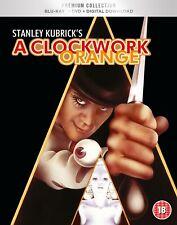 * A CLOCKWORK ORANGE ( 1971 STANLEY KUBRICK ) HMV PREMIUM COLLECTION BLURAY DVD