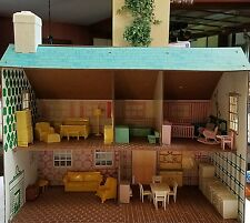 41 Piece Lot Vintage Pre 1970S Doll House Furniture Great Condition