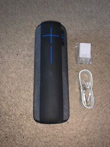 New Ultimate Ears UE MEGABOOM Wireless Bluetooth Speaker Waterproof - Black Blue